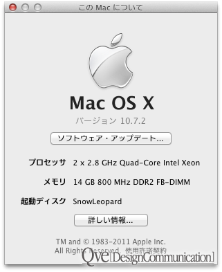 About This Mac…